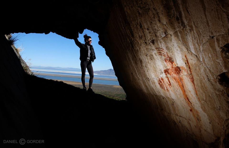 Petroglyphs hike West Desert Utah. Photo credit Dan Gorder.