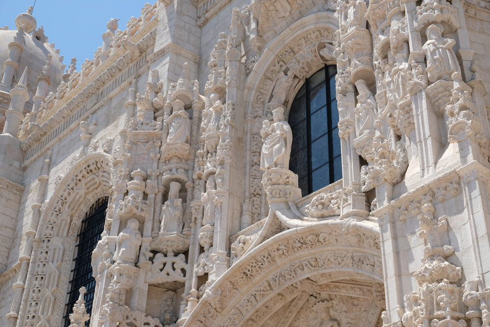The spectacularly designed Mosteiro dos Jeronimos - which survived the Lisbon Earthquake unscathed. Photo credit: Belinda Birchall