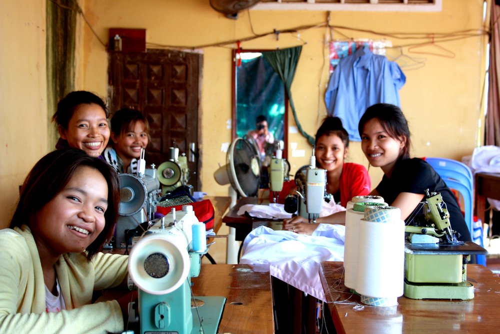 Sustainable Cambodia Sewing Club