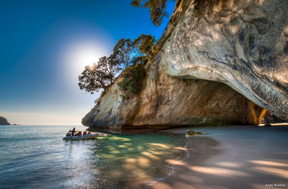 Cathedral Cove Photo Credit: Andy Belcher