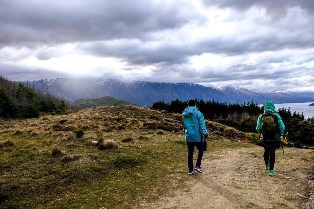An optional hike up Queenstown hill. Photo: Holly Brace