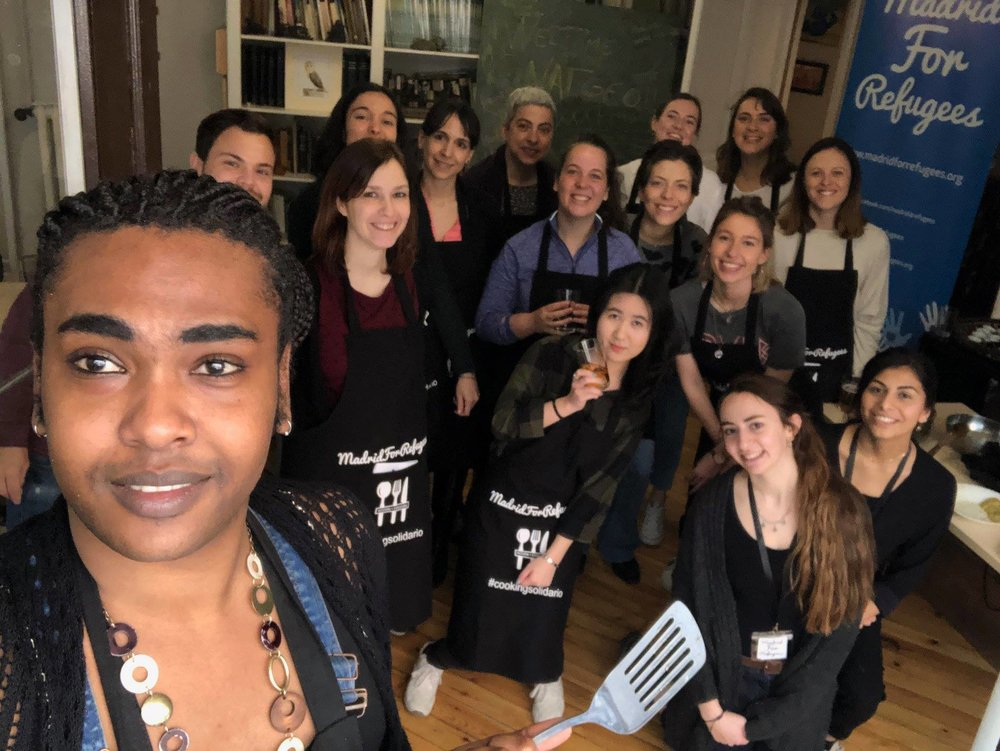 'Chefugee' cooking classes are a popular program