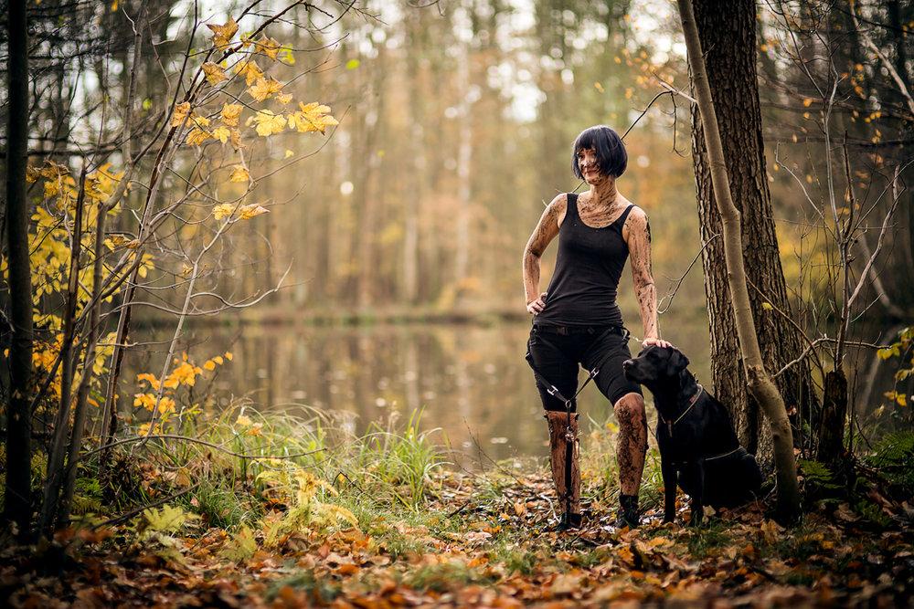Das kleine Schwarze - geht immer. Pic aus dem Camp Canis Shooting November 2017