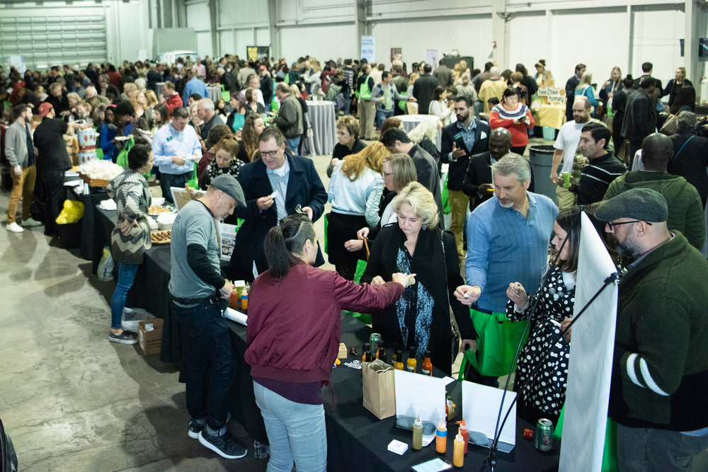 400 food lovers, makers, farmers and chefs joined us for Meet the Makers in Houston, Texas, on Nov. 11, 2018.