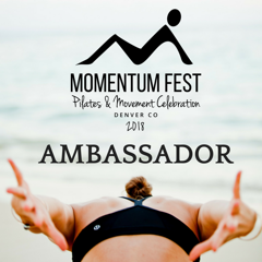 Momentum Fest 2018 - I'm so proud to be an ambassador for the first ever Momentum Fest! It's a weekend dedicated to all things pilates and movement, for students and teachers alike, for all of us to come together and share our love for the method. Join me and many other pilates enthusiasts, along with the best instructors in the industry. Use my code for a special discount on your tickets: momentumrobertsCan't wait to see you there!