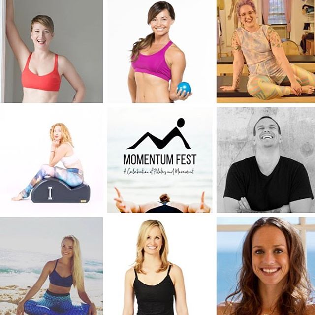 THREE WEEKS until @momentumfest! I'm so excited for the killer line up of industry leading instructors 🤩 This weekend-long event is a celebration of all things movement-pilates, barre, yoga, etc, and is really focused on the joy and connection within it all. I love that it's not limited to instructors, professionals or masters. Instead, EVERYONE is invited. Anyone who enjoys moving is welcome, and I cannot wait to meet all you movers and shakers!💕 Tell me below what YOU are most looking forward to at Momentum Fest! 👇🏼 There are still a few openings left if you haven't gotten your ticket yet! Message me for details!  #momentumfest #momentumfest2018 #pilates #pilateslovers #barre #yoga #movementismedicine #moveyourbody #denver #pilatesinstructor #basipilates #balancedbody #clubpilates #dopilatesdolife #pilatesparty #flightattendant #healthblogger #travelblogger