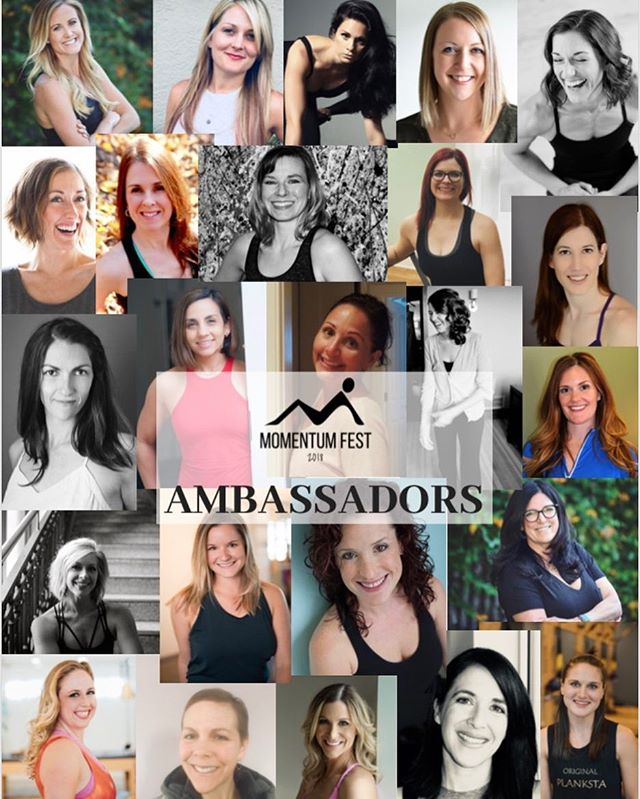 Just a few more days until I'm surrounded by these lovely ladies in the mountains! @momentumfest starts on FRIYAY! I can't wait to meet all of you movement lovers! Let me know if you are going to be there 🙋🏼‍♀️ #momentumfest #momentumfest2018 #pilatesinstructor #pilateslovers #moveyourbody #movementismedicine #pilates #balancedbody #basipilates #dopilatesdolife #pilatesfestival #pilatesfest #movewithme #flightattendant #travelbog #healthblog #thriveaway