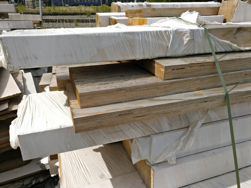 Glulams - Various lengths and sizes, all < 3 meters longEnvironmental labeled WPG glueContinuous supply