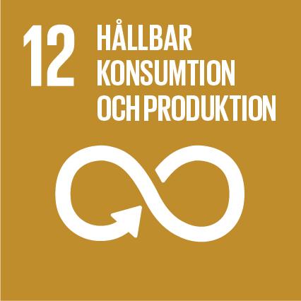 FN:s definition:Främja hållbara konsumtions- och produktionsmönster.