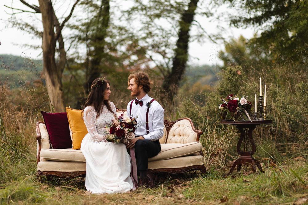 Boho Style Wedding