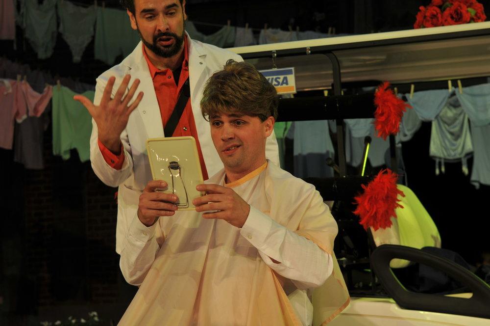 Rossini, Il Barbiere di Siviglia  (Almaviva). Zomeropera Alden Biesen, Belgium - 2010