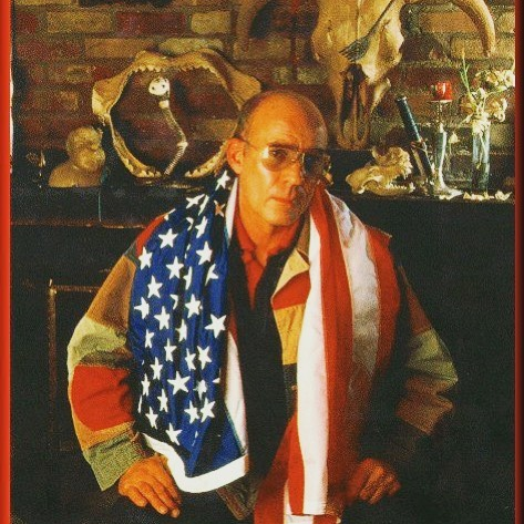 """Happy 4th of July from the team of Bar Gonzo! From the man Hunter S. Thompson: """"The people who did this Declaration of Independence and the Constitution were, uh, good people,"""" What would he think of the political stage today? #fuckitiloveyou #bargonzonyc #huntersthompson #patriot #independenceday #4thofjuly #fourthofjuly #literature #america"""