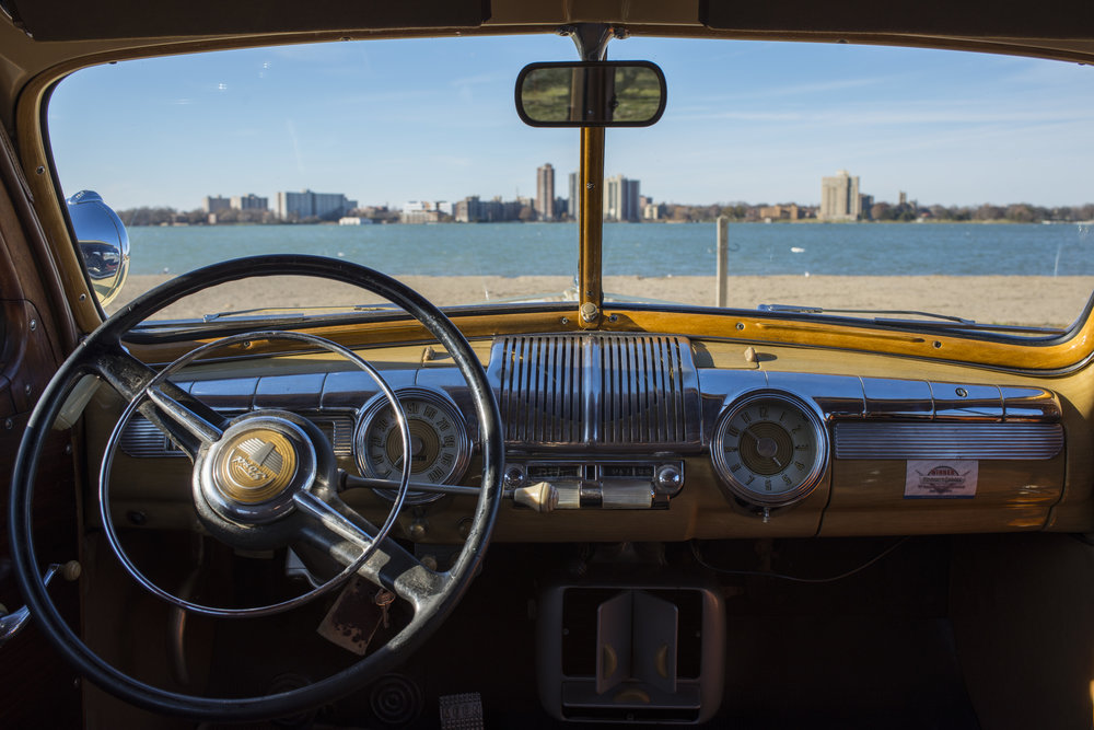 "1948 Ford Super Deluxe ""Woody"" for The Wall Street Journal   https://www.wsj.com/articles/ford-woodie-americana-you-can-drive-down-the-road-1512484032"