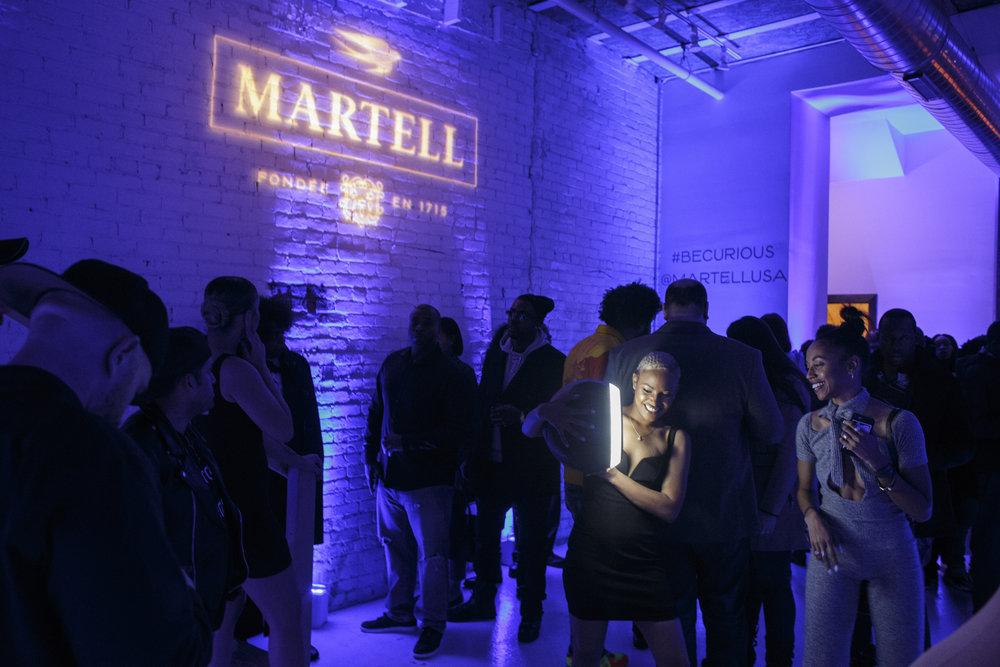 Branding for Martell/The Fader