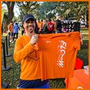 Uniforme   Kiit com 2 camisetas exclusivas Floow. O uniforme é confeccionado com tecidos que favorecem a prática da atividade física ao ar-livre, uma das principais características da Floow.