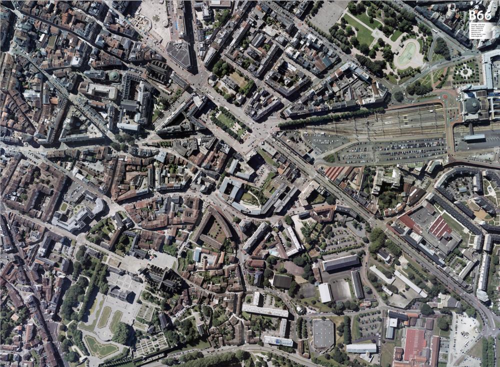 LIMOGES, France - 4cm GSD at 4000ft altitude