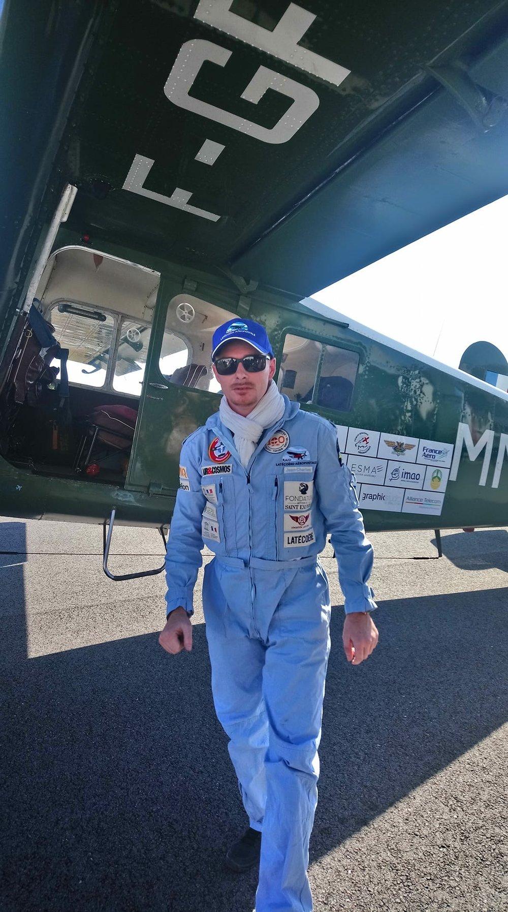 Jean-Charles Saquet - IMAO Chief Pilot