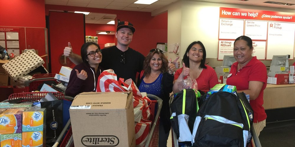 Pacifica Resource Center Target Back to School