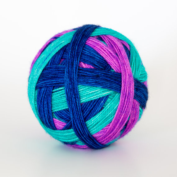 Self-Striping Yarn   -