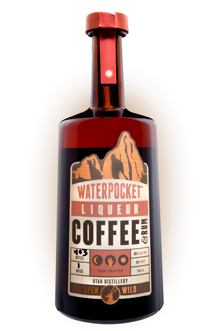 Coffee and Rum Liqueur