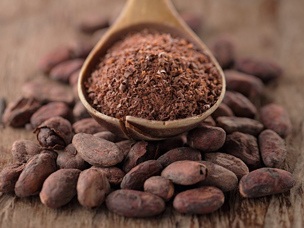 Cocoa Beans & Grounds