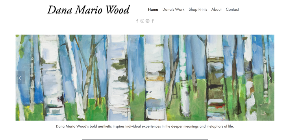 Dana Mario Wood Art -