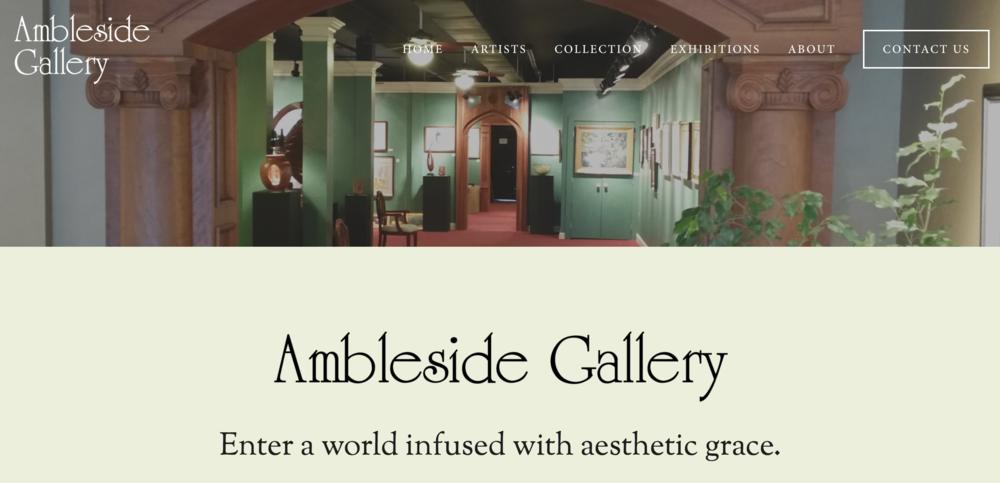 Ambleside Fine Art Gallery in Greensboro, NC amblesidearts.com