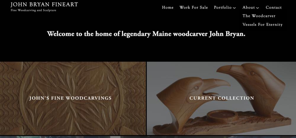 John Bryan, Fine Sculpture and Woodcarving - bryanart.com