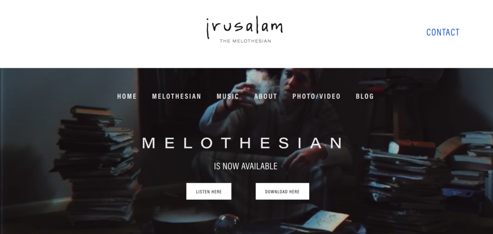 Jrusalam - Visit Jrusalam.com to discover his newest album, Melothesian.