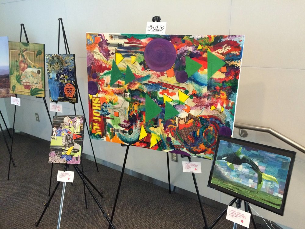 """Caro The Creative Art Show - Visit """"Shotgun"""" on the 5th floor of NCSU's Talley Student Union"""