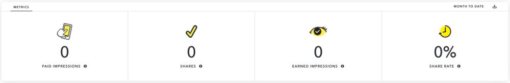 New Snapchat Creative dashboard - business