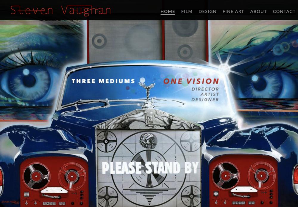 Steven Vaughan - Built on Squarespace.