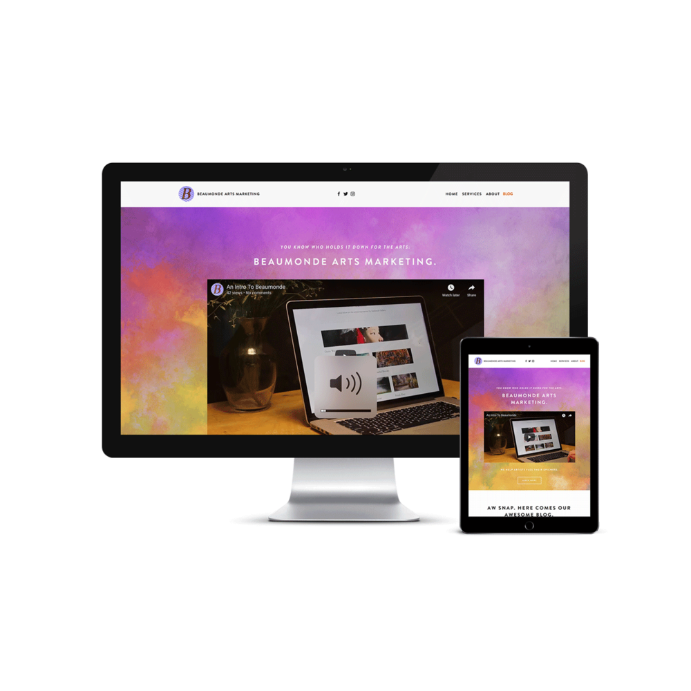 squarespace websites - It's time for your aesthetic to flourish online. We are Squarespace experts building custom websites that honor your aesthetic and support your long term success.