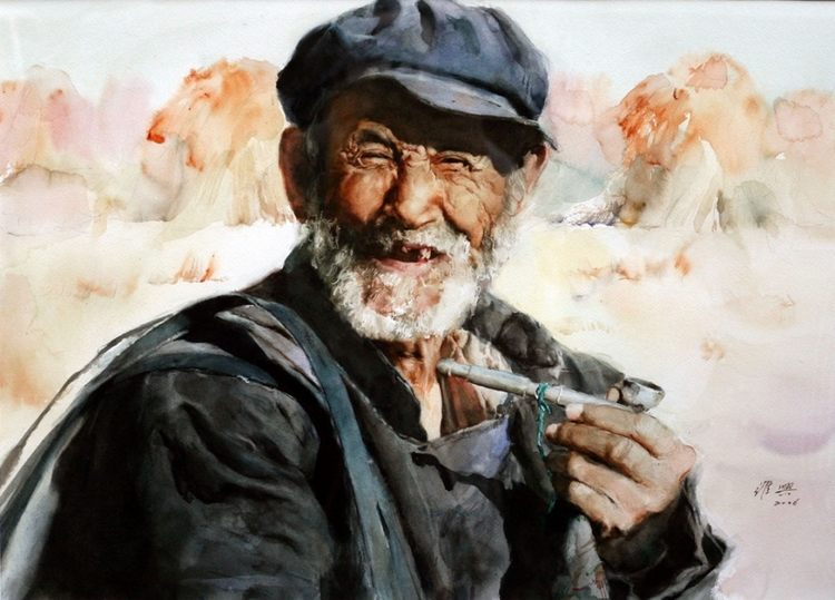 Ambleside Gallery is honored to represent China's premier watercolorist,  Guan Weixing .