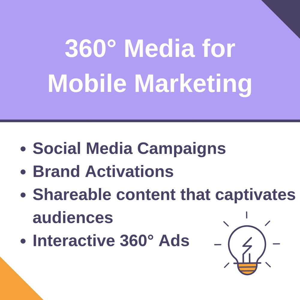 360° Media works great for Mobile Marketing