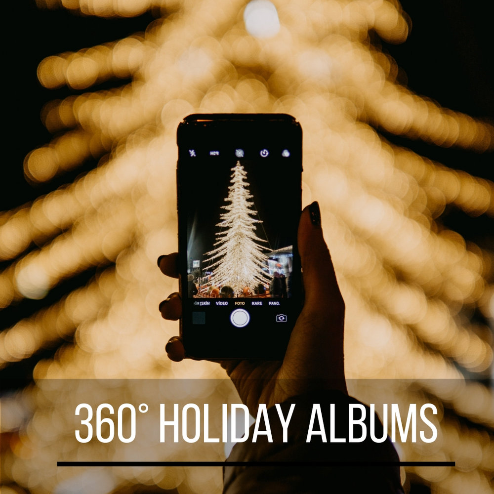 360° holiday albums just in time for the winter season!