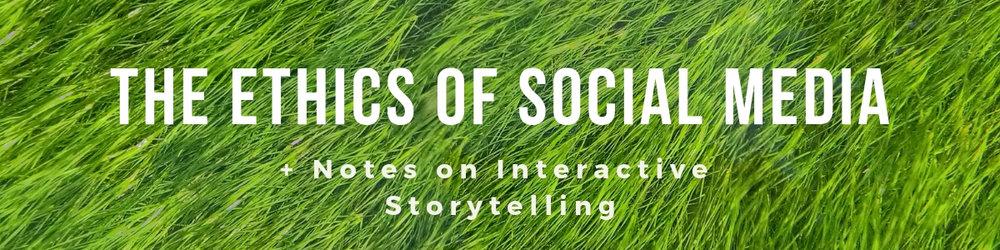 The Ethics of Social Media Banner Image.