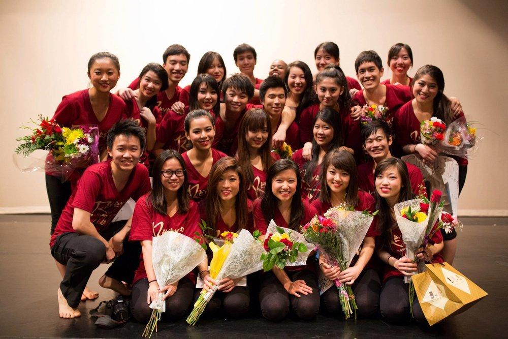 Class of 2013 - Donna Chen, Fiona Lim, Jessica Liu, Lucia Xiong, Rachel Au-Yong