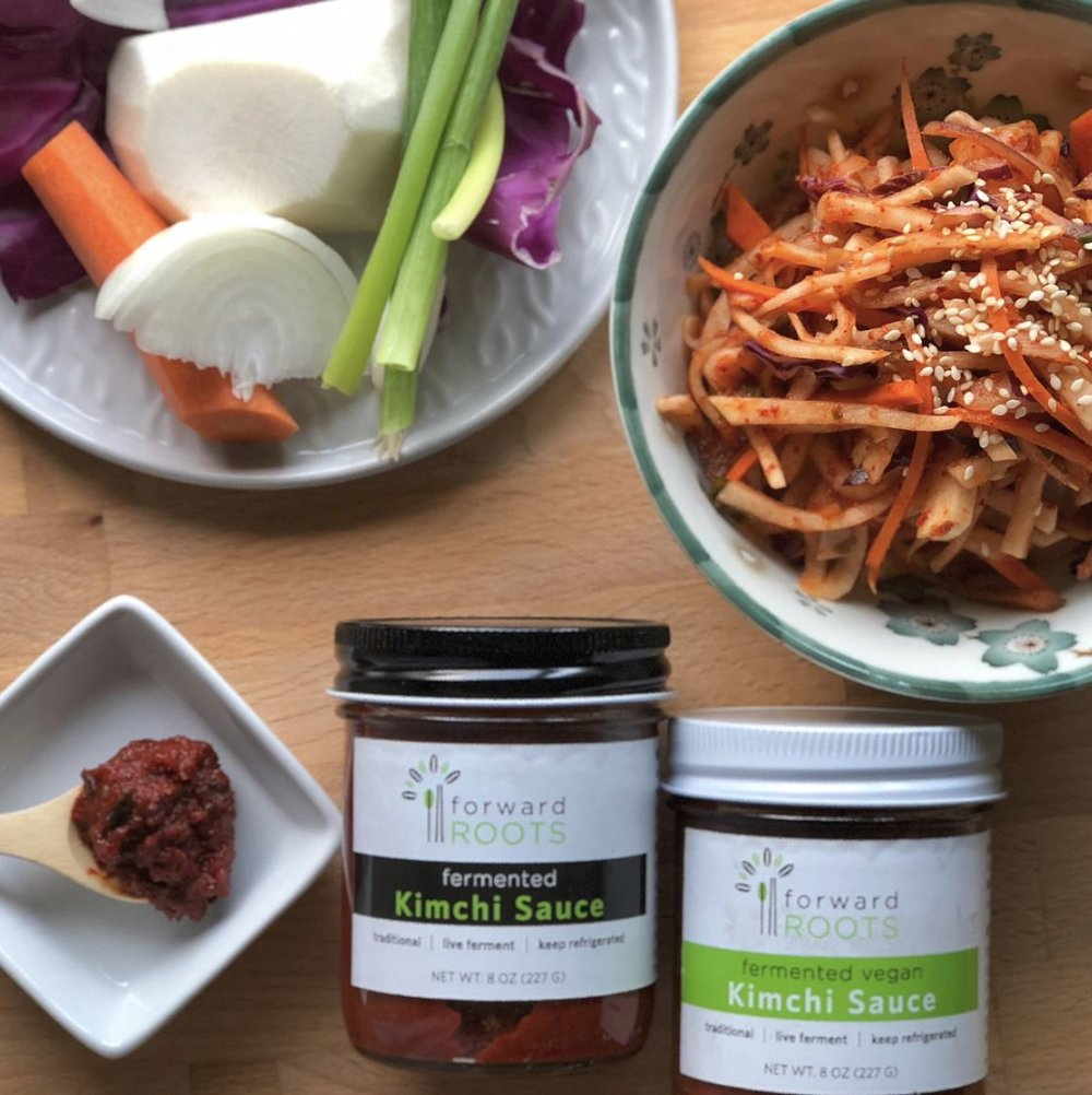 Forward Roots, Kimchi Sauces