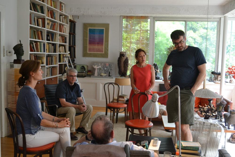 Katharine D,Jim Langley, Helen Gates, Jeff Taylor, Irving Harper.JPG