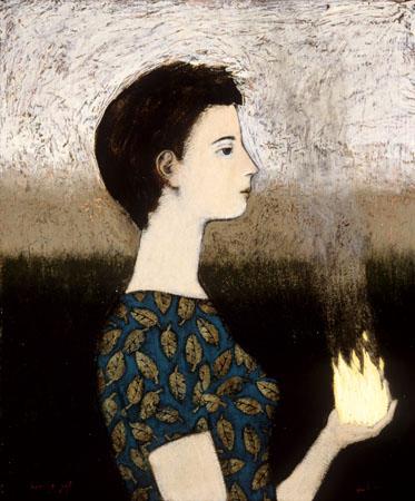 burning gift