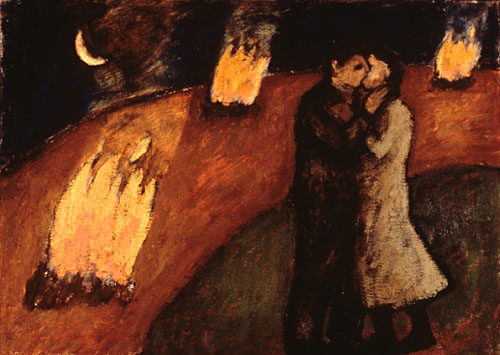 Lovers with three fires