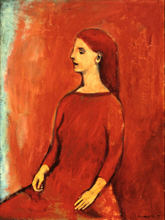 A red painting