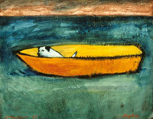 Dog boat