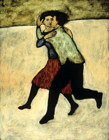 Lovers running