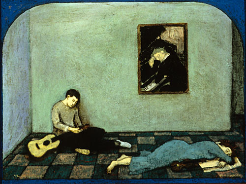 The sleeping musicians