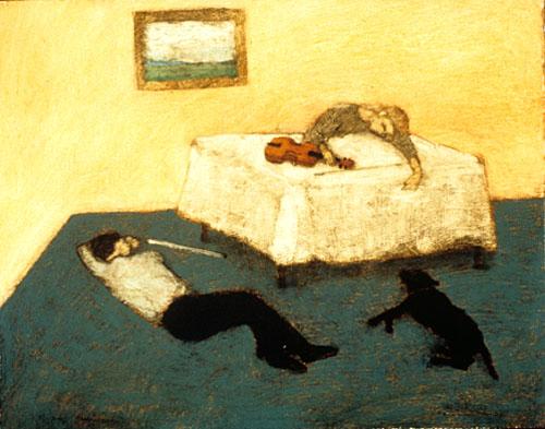 Sleeping musicians