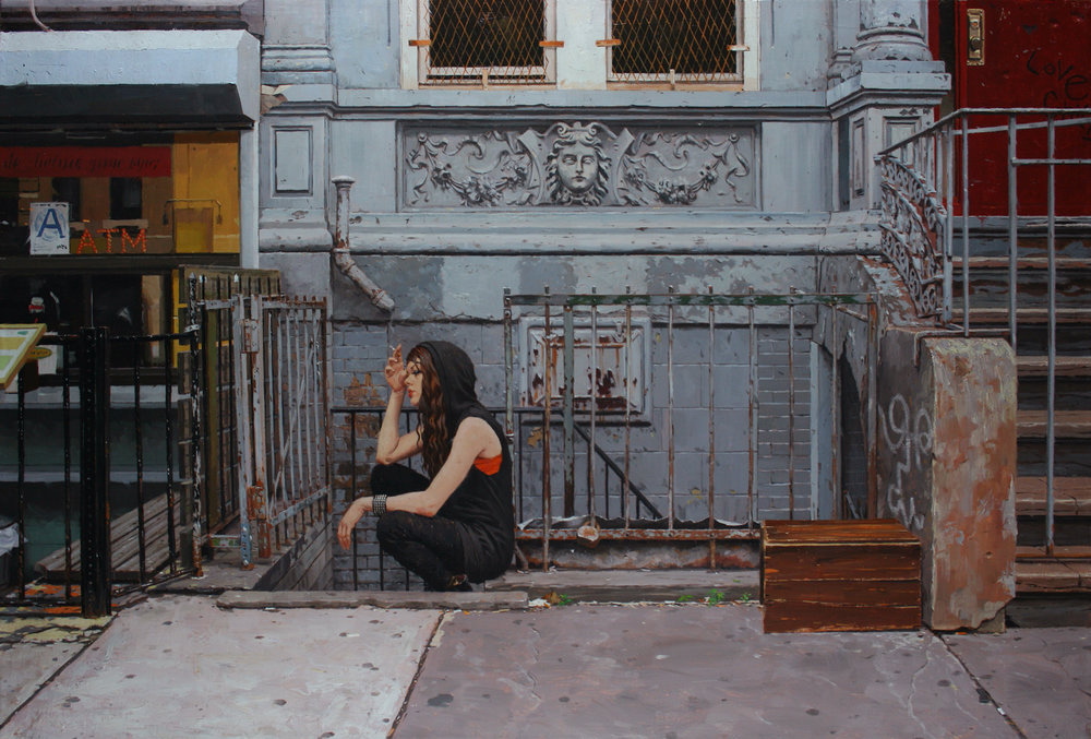 East Village   oil   24 x 36