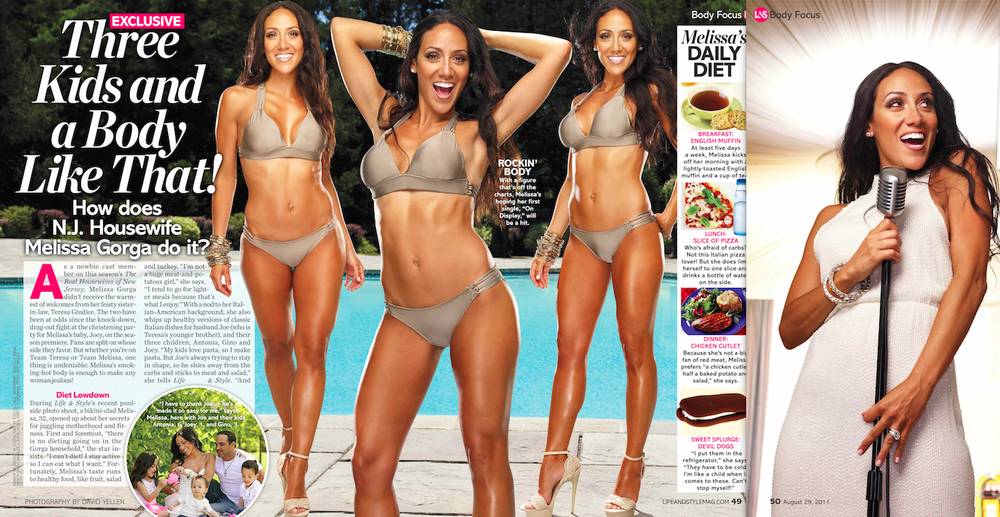 "Melissa Gorga ""The Real Housewives of New Jersey"""