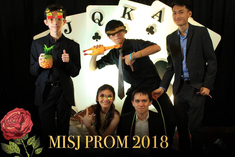 MISJ PROM 2018   - dslr booth -   custom backdrop